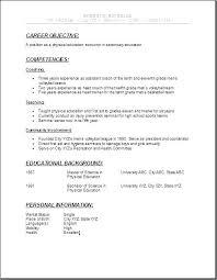 Sample Highschool Resume Example Of High School Resume Awesome Job