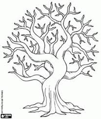 Small Picture Coloring Pages Of Tree Perfect Tree And Elves Coloring Pages For