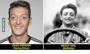 Ferrari is a luxurious automobile, an exclusive of the rich while ozil is an attacking midfielder and winger. Mesut Ozil And Enzo Ferrari