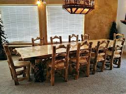 solid wood dining table sets rustic impressive round breakfast set