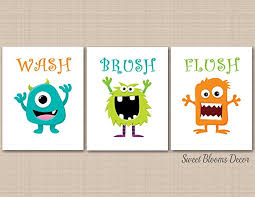 >amazon monsters bathroom wall art monsters kids bathroom wall  monsters bathroom wall art monsters kids bathroom wall art monsters wall art boy