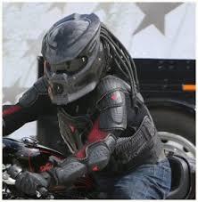 predator motorcycle helmets world s coolest biker helmet