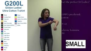 Best Ladies Fit Gildan T Shirt Sizing Video