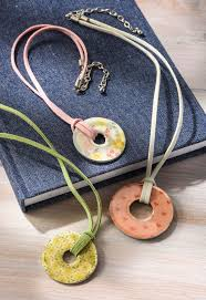 learn how to make washer necklaces using mod podge and dimensional magic these are so