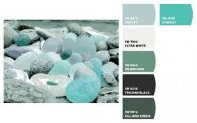 muted sea glass palette for interior design