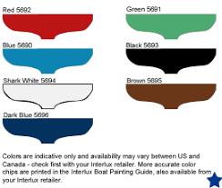 Pettit Color Chart 2019