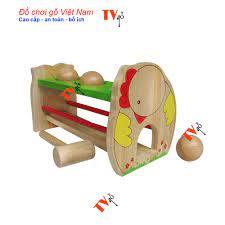 Đồ chơi vận động cho bé | Trò chơi đập banh gỗ winwintoys Việt nam giá cạnh  tranh