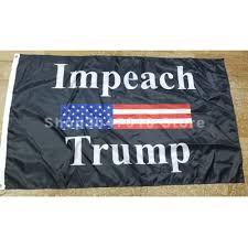 90x150cm impeach trump flag banner ...