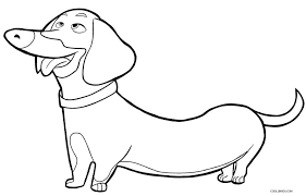 Beautiful dogs of various breeds to color, for children of all ages. Printable Dog Coloring Pages For Kids