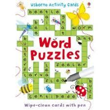 word puzzles activity cards usborne