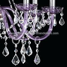 purple chandelier crystal chandelier 8 light purple purple chandelier french crystal