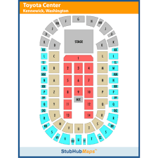 Toyota Arena Kennewick Seating Chart Toyota Center And Toyota Arena Events And Concerts In