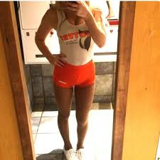 Hooters Uniform Top And Bottom