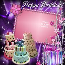 birthday cake frame editing framesite co