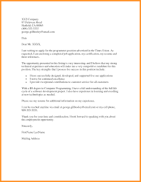 Simple Cover Letter Job Application Bio Letter Format