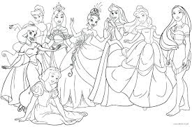 print out coloring pages disney princess free printable to