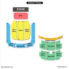 Alabama Theater Seating Chart 20 Seating Chart Alabama Florida State Pictures And Ideas