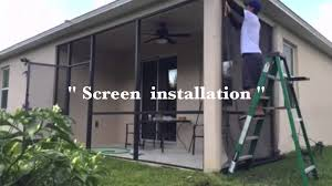 patio and porch screen installation you