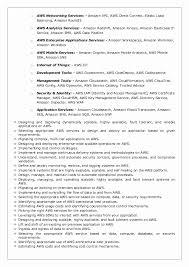 Aws Redshift Resume 40 Dragonflyeventsco Delectable Aws Resume