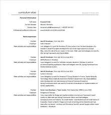 Resume Of Java Developer Java Developer Resume Java Developer Resume