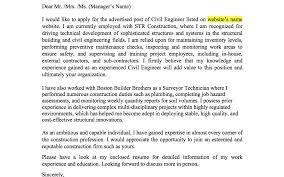 Bunch Ideas Of Cover Letter For Fresher Civil Engineer Resume For