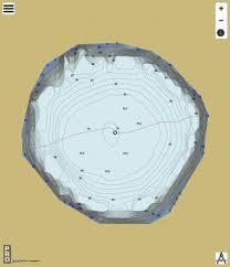 Crater Lake Fishing Map Ca_sk_crater_lake_sk Nautical