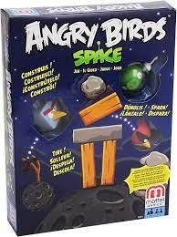 Mattel X6913 - Angry Birds in Space, Geschicklichkeitsspiel: Amazon.de:  Spielzeug