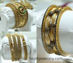 Gold Bangles Design In Malabar Gold Antique Gold Bangles By Malabar Gold And Diamonds Indian
