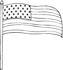 Flag Coloring Picture : Printable American Flag Coloring Page ...