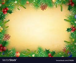 vintage and new year frame vector image