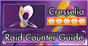 Cresselia Raid Counter Guide Pokemon Go Wiki Gamepress