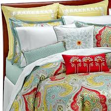 new echo design paisley jaipur full queen duvet cover 92 w x 96