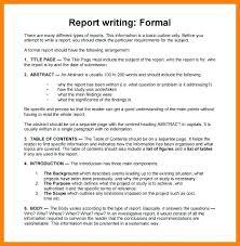 Short Business Report Sample Formal Business Report Template Luxury Format Short