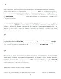 Letter To Terminate Contract With Supplier Termination Of Service Agreement Template
