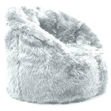 fur chair target fine faux bean bag for modern furniture with additional grey mongolian white furry grey fur chair