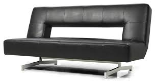 modern leather sofa bed. Brilliant Leather Best Futon Leather Sofa Bed Black Eco Modern Futons  Nationwide Intended