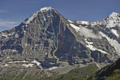 The north face of the eiger has been a long held ambition of his, ever since he first read 'the white spider' as a teenage boy. Odyssee The Hardest Route On The Eiger North Face By Roger Schaeli Robert Jasper And Simon Gietl