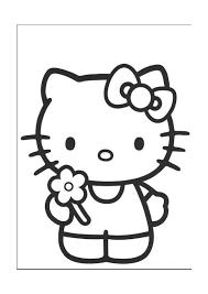 Kleurplaten Hello Kitty 4
