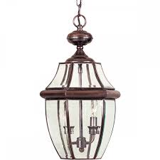 Large Hanging Front Porch Lights Newbury Classic Style Aged Copper Large Outdoor Hanging Porch Lantern