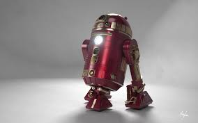 ironman r2d2 wallpaper