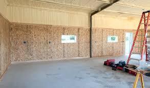 garage interior wall covering illbedead