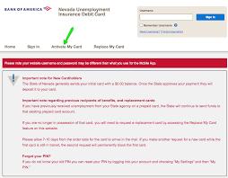 Should the unemployment debit card be automatically shipped? Nevada Unemployment Debit Card Guide Unemployment Portal