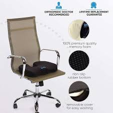 everlasting fort pure memory foam luxury seat everlasting fort pure memory foam luxury seat from office chair replacement parts