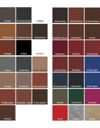 Saphir Nuancier Color Chart