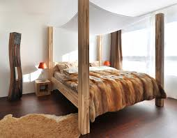 modern bed designs in wood. View In Gallery Chic-canopy-bed.jpg Modern Bed Designs Wood