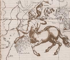 Легенды и мифы о созвездиях Изображение созвездия Стрельца