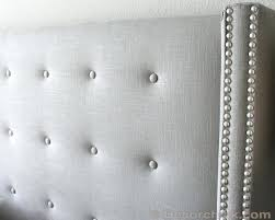 tufted headboard with nailhead trim king upholstered headboard with trim linen headboard with trim surprising tufted