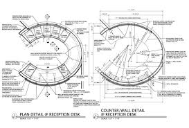 ... Reception Desk Desk Design Construction Drawings ...