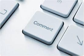 Resultado de imagem para comentários em blog