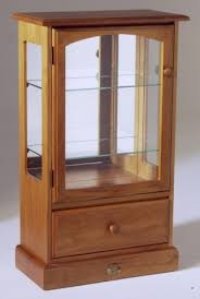 display cabinet small with drawer